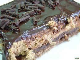 Tarta de chocolate y ron