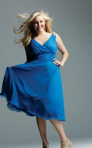 Cómo elegir un vestido de fiesta en talla grande
