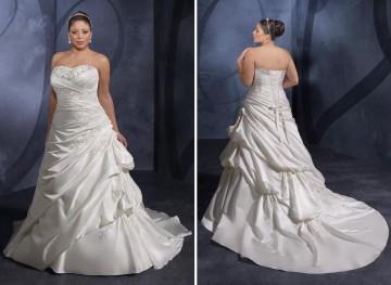 Tallas grandes: vestidos de novia