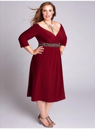 Cómo elegir un vestido de fiesta en talla grande 1