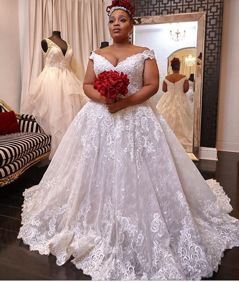 Custom Made Plus Size Bridal Gowns _ Darius Cordell, USA dress designer