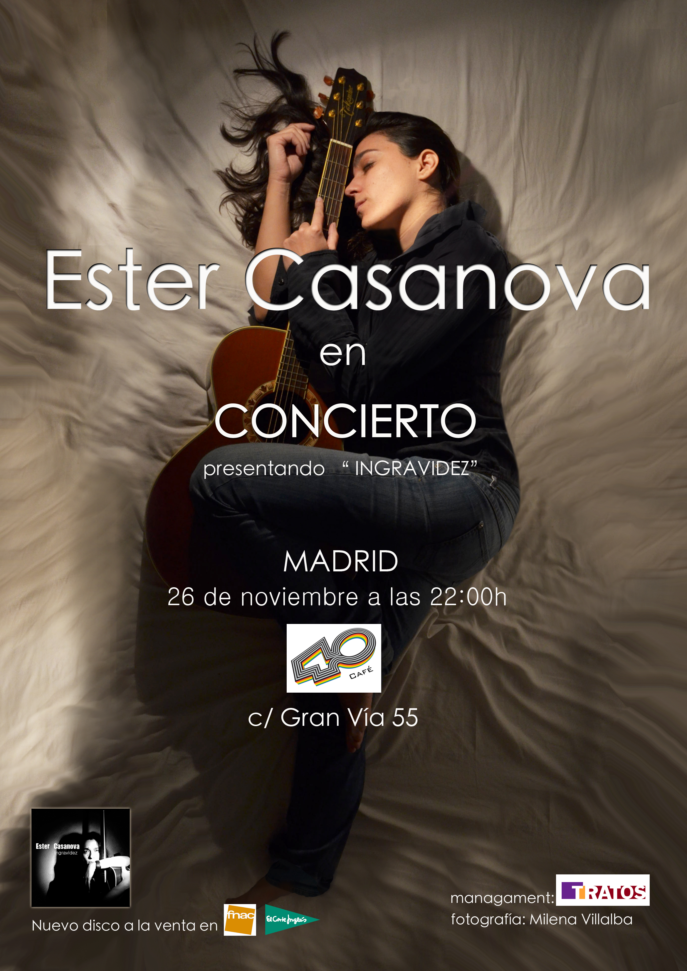 ESTER CASANOVA CARTEL 40CAFE