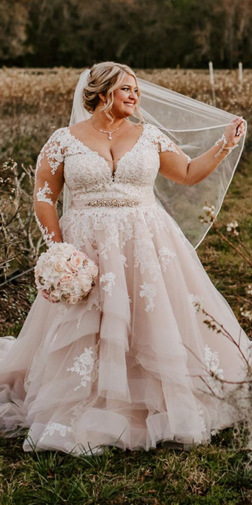Lace Plus Size Wedding Dresses _ Wedding Dresses Guide