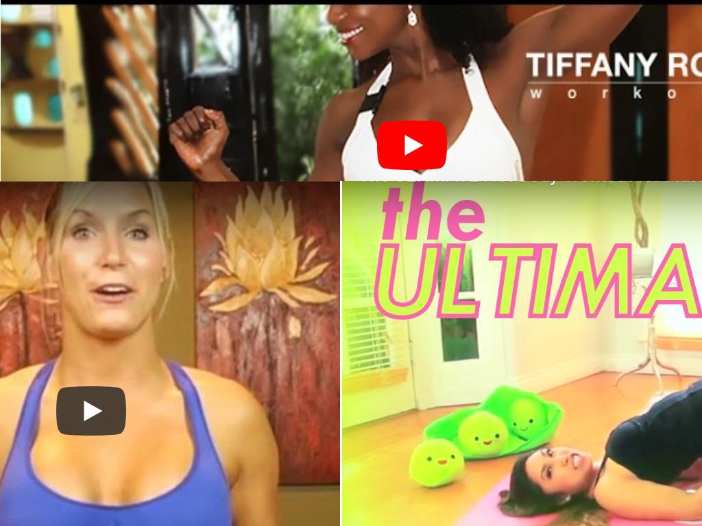 youtubers ejercicio físico