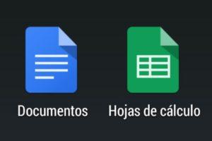 Documentos y Hojas de cálculo de Google para Android