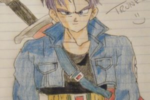 dibujo de trunks