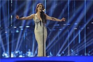 1º vestido eurovision ruth lorenzo