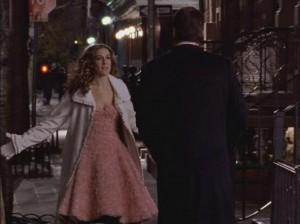 outfit vestido noche sarah jessica parker