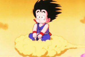 goku en nube voladora