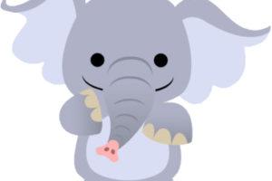 elefante de pastilina