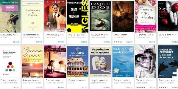 Libros gratis exitosos para Android