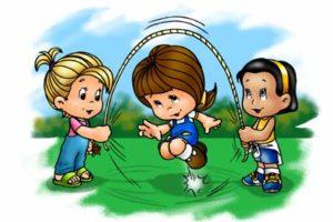 niñas jugando
