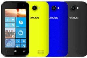 Archos 40 Cesium, el nuevo Windows Phone económico 4