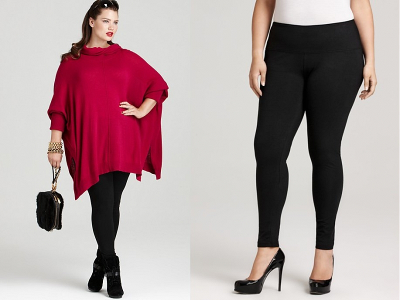 plussize leggings style tips