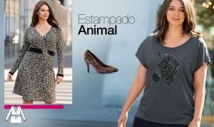 Tendencias tallas grandes el print leopardo