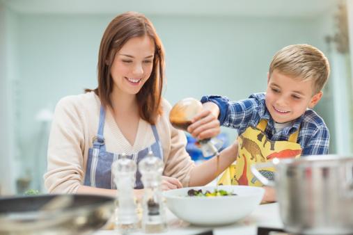 cocinando con mama