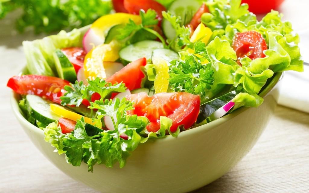 fresh salada