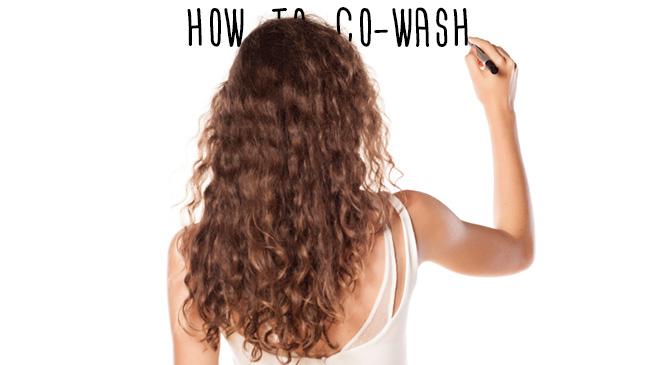 lavar el cabello