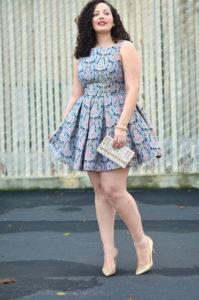 vestidos modernos y formales para tallas grandes