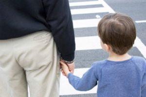 cuidar niños en la calle
