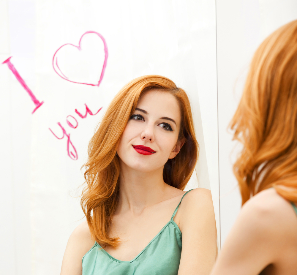 mirarse al espejo