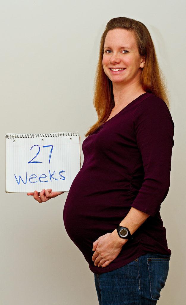 Semana 27 Embarazo