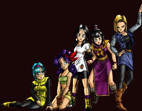 chicas dragon ball