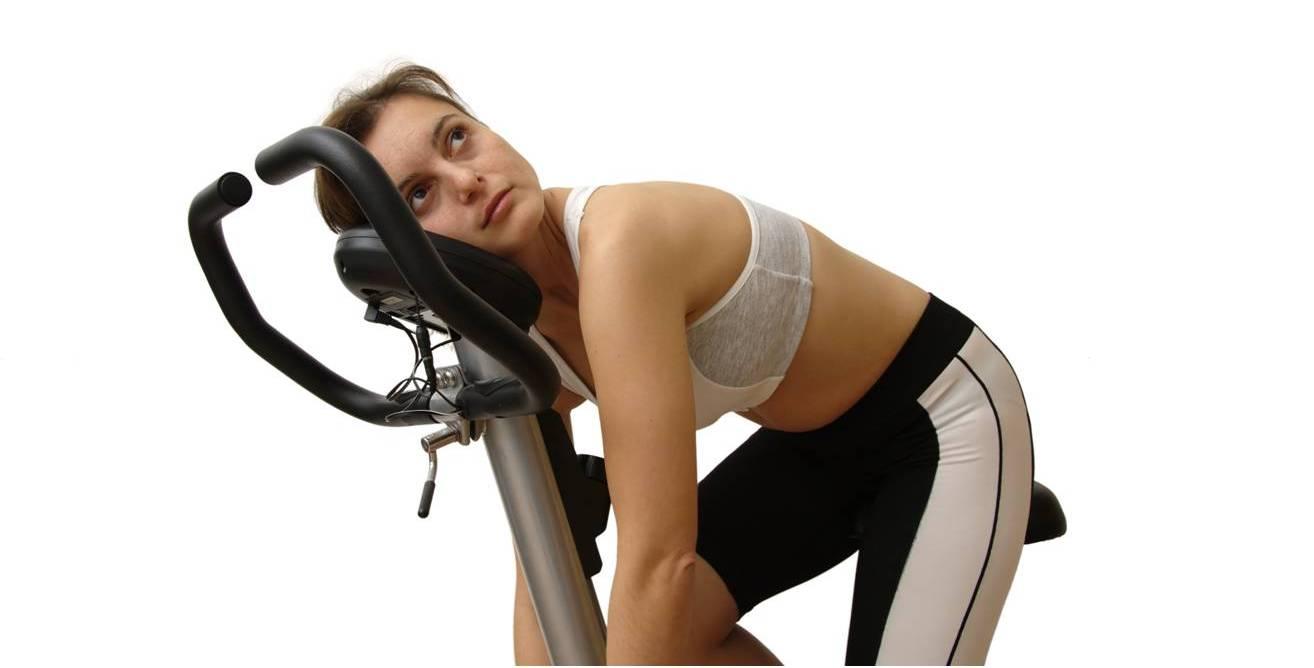 exceso de ejercicio