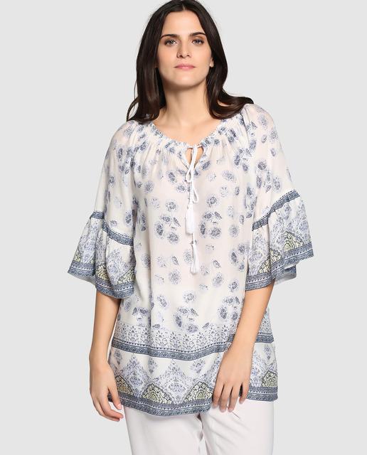 Outfit Couchel Primavera 2017 - túnicas románticas