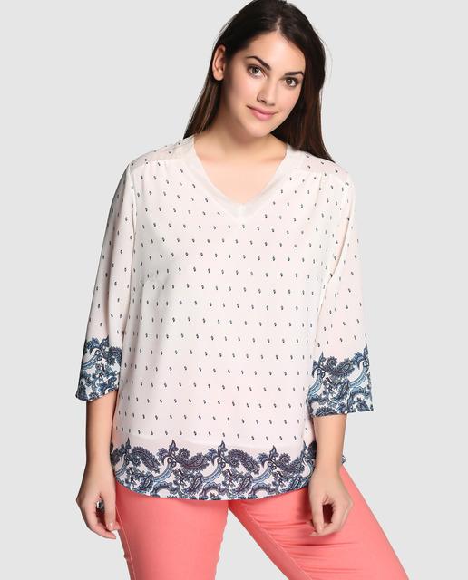 Outfit Couchel Primavera 2017 - túnicas estampadas