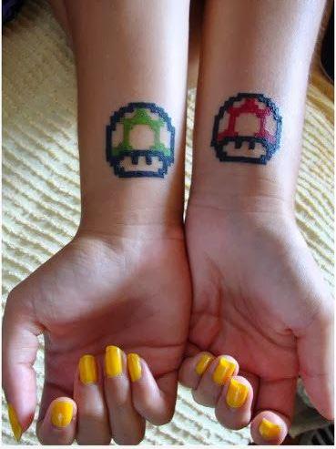 tatuaje 1up