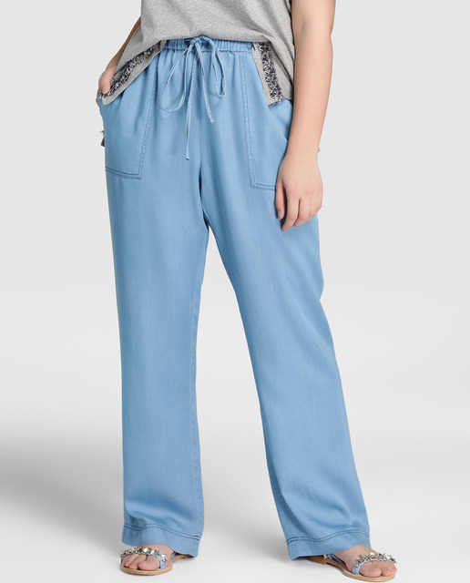 Casual Denim Tallas Grandes - pantalones denim