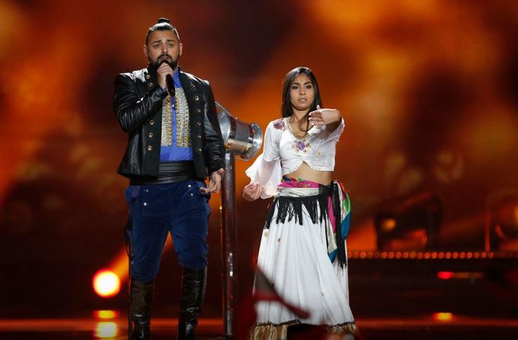 Los looks más comentados de Eurovisión 2017 - Hungría Eurovisión