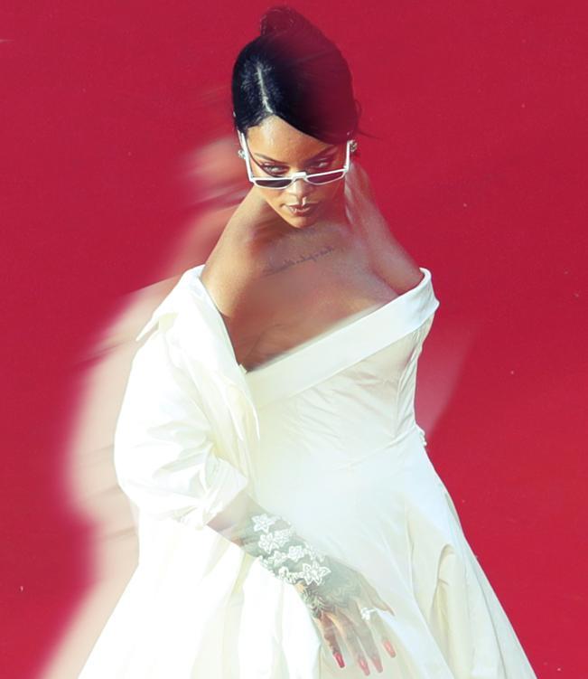 Los mejores vestidos de Cannes - Rihanna de Dior