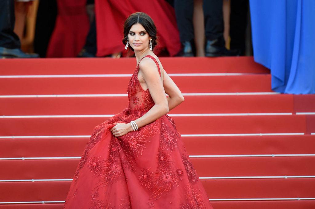 Los mejores vestidos de Cannes - Sara Sampaio