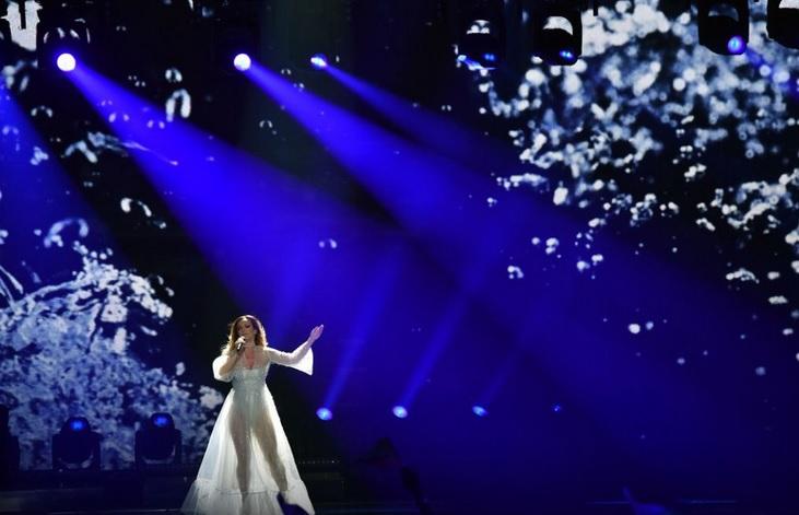 Los looks más comentados de Eurovisión 2017 - Ijana Bogicevic de Serbia