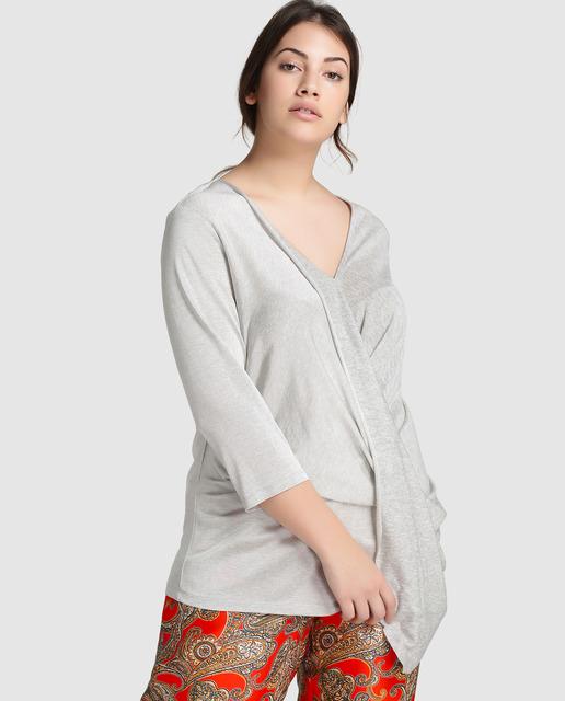 descuentos 40% tallas grandes - blusas y tops tallas grandes