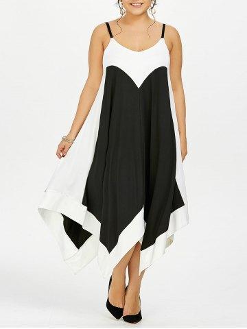 Vestidos de Playa Tallas Grandes - vestido blanco y negro tallas grandes