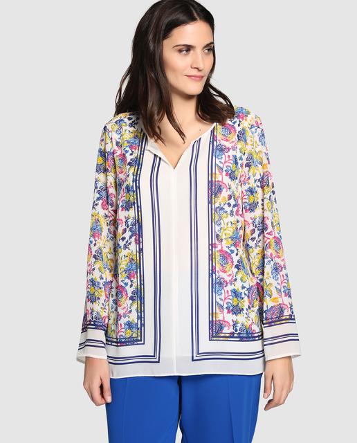 Descuentos de hasta el 50% en Antea Plus - blusa de flores