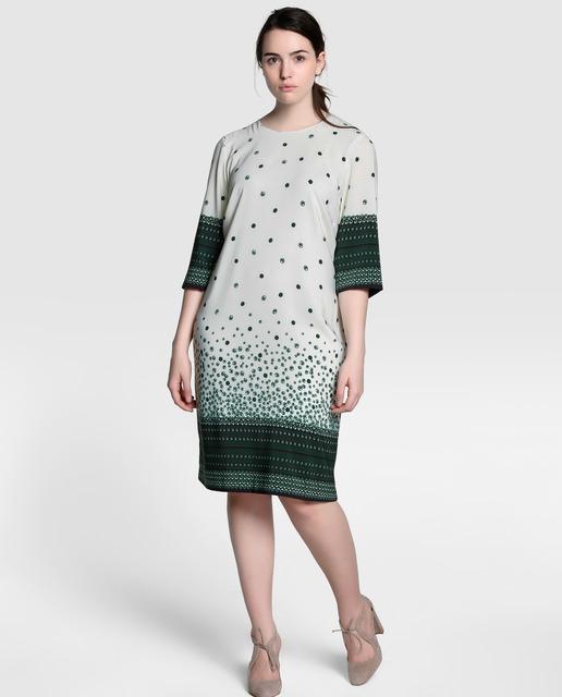 Descuentos de hasta el 50% en Antea Plus - vestidos estampados talla grande