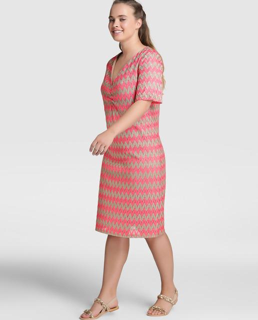 Descuentos de hasta el 50% en Antea Plus - vestidos de rayas tallas grandes