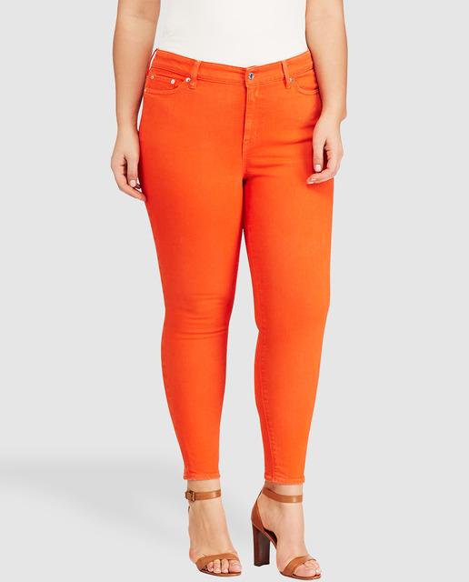 ¿ Conoces las prendas forma Siluetas de El Corte Inglés ? - pantalones naranjas tallas grandes