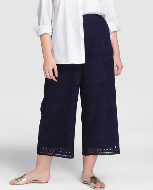 5 looks Tallas grandes - pantalones calados