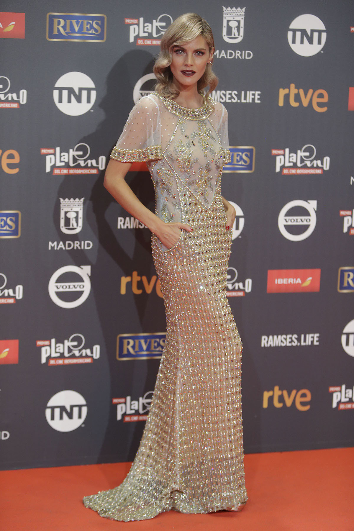 Las mejores vestidas en los Premios Platino del Cine Iberoamericano 2017 -Amaia Salamanca