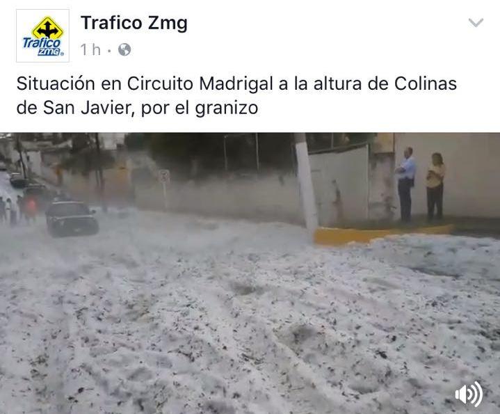 granizo en mexico