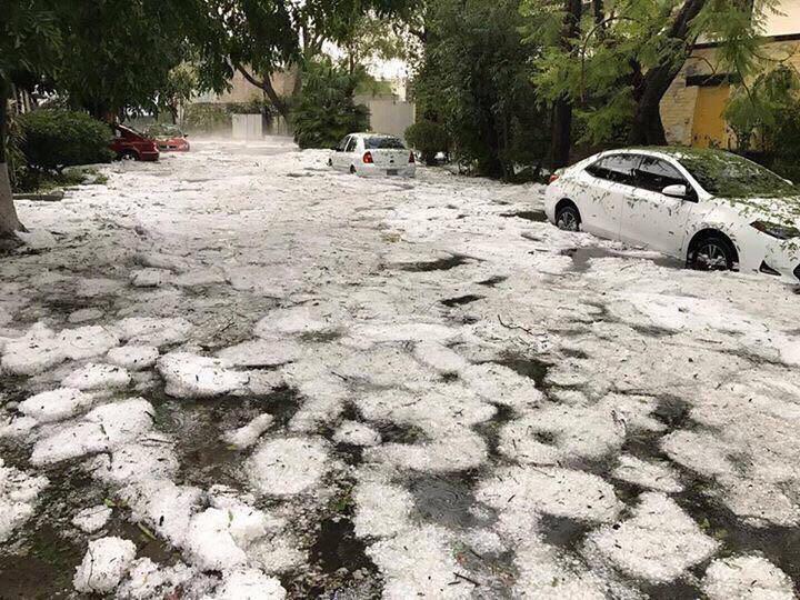 tormenta en guadalajara mexico