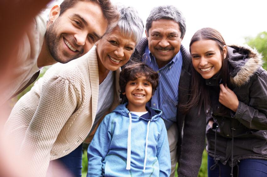 Tipos de familias: familia extensa