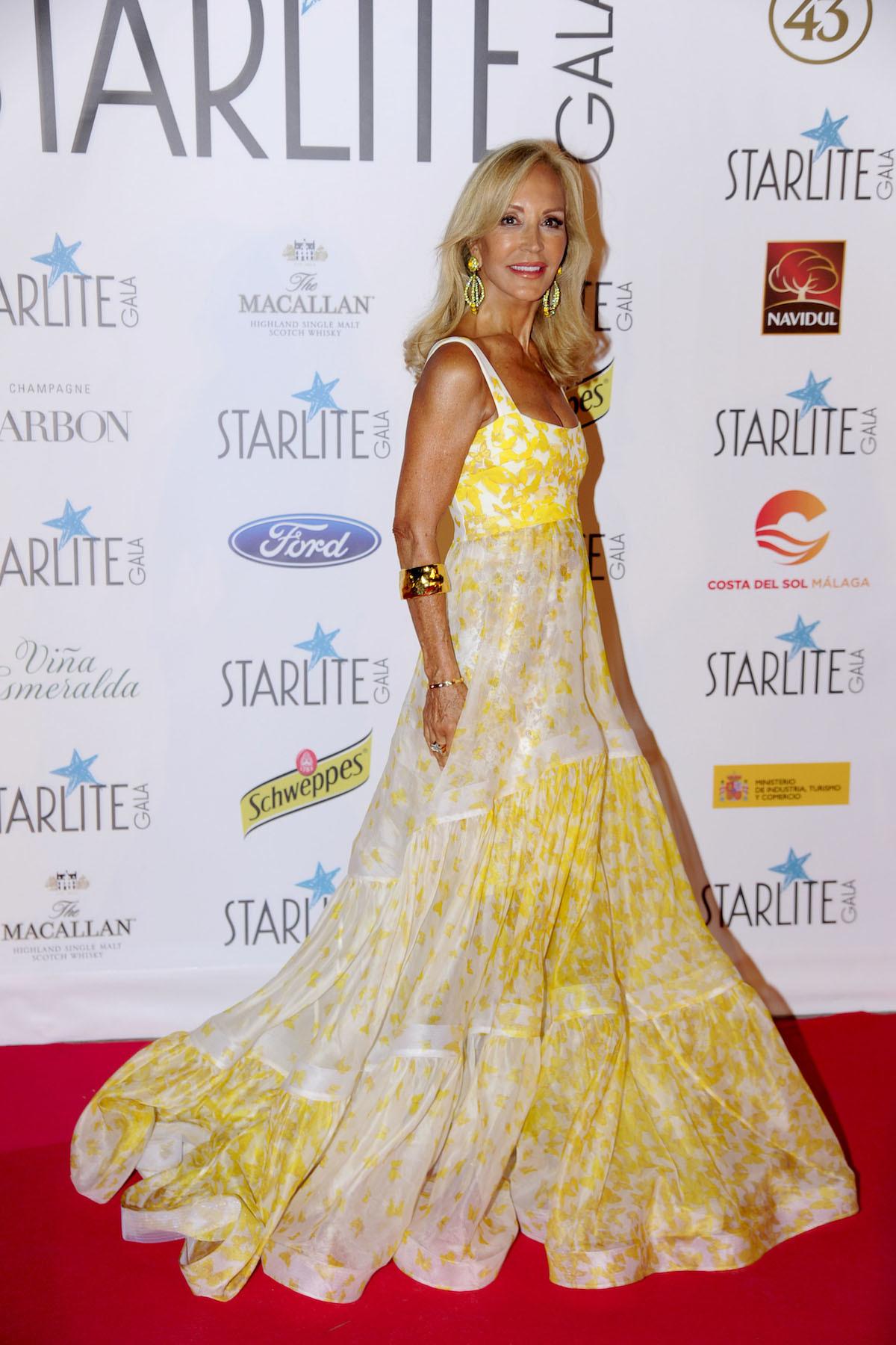 Descubre las 4 mejores vestidas de Starlite Marbella 2017 - Carmen Lomana