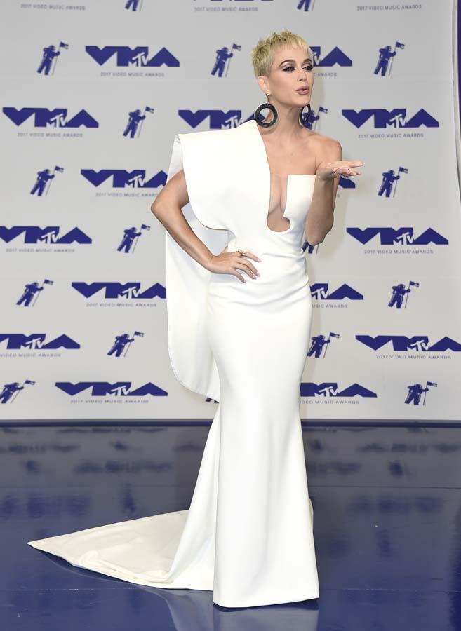 Las mejores vestidas de los MTV VMA 2017 - Kate Perry