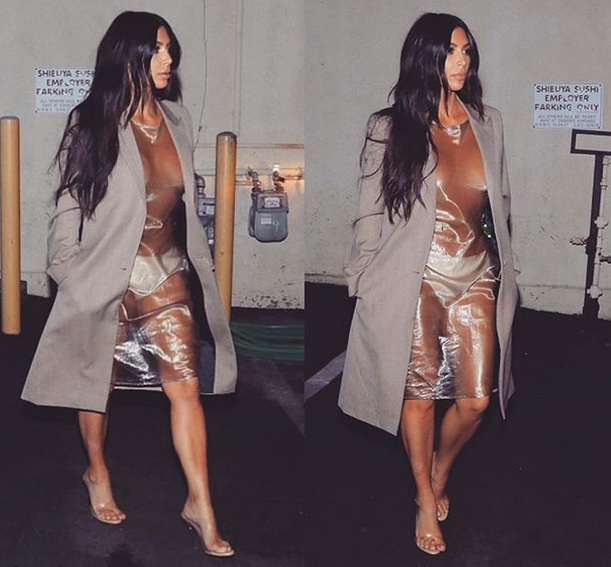 Kim Kardashian es criticada por su vestido tendencia Naked - noticias Kim Kardashian